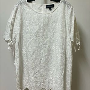 Lane Bryant white top size 18 like new condition